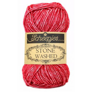 Scheepjes Red Jasper Stone Washed Yarn (2 - Fine)