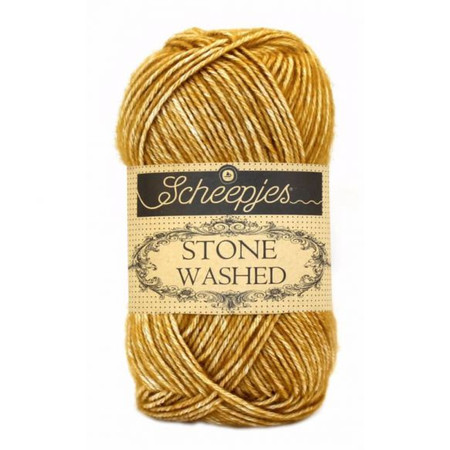 Scheepjes Yellow Jasper Stone Washed Yarn (2 - Fine)