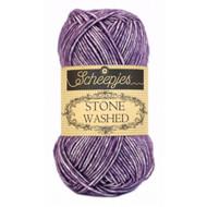 Scheepjes Deep Amethyst Stone Washed Yarn (2 - Fine)