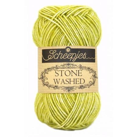 Scheepjes Lemon Quartz Stone Washed Yarn (2 - Fine)