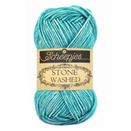 Scheepjes Green Agate Stone Washed Yarn (2 - Fine)