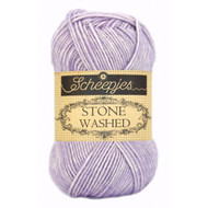 Scheepjes Lilac Quartz Stone Washed Yarn (2 - Fine)