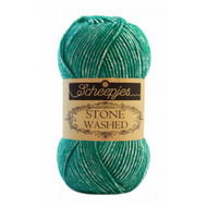 Scheepjes Malachite Stone Washed Yarn (2 - Fine)