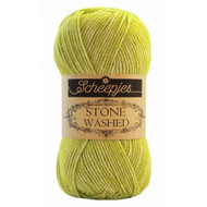 Scheepjes Peridot Stone Washed Yarn (2 - Fine)