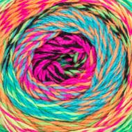 Red Heart Neon Roll With It Tweed Yarn (4 - Medium)