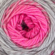 Red Heart Popular Pink Roll With It Tweed Yarn (4 - Medium)
