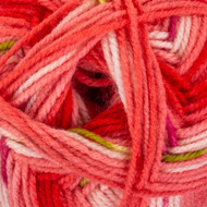 Red Heart Salmon Hugs & Kisses Yarn (4 - Medium)