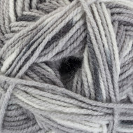 Red Heart Grey Hugs & Kisses Yarn (4 - Medium)