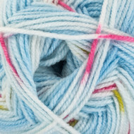 Red Heart Light Denim Hugs & Kisses Yarn (4 - Medium)