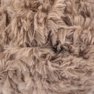 Red Heart Soft Taupe Hygge Fur Yarn (5 - Bulky)