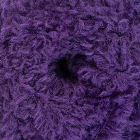 Red Heart Royal Purple Hygge Fur Yarn (5 - Bulky)