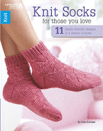 Leisure Arts Knit Socks for Those You Love - 11 Original Knit Designs