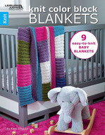 Leisure Arts Knit Color Block Blankets