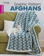 Leisure Arts Graphic Pattern Afghans