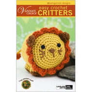 Leisure Arts Vanna's Choice Easy Crochet Critters