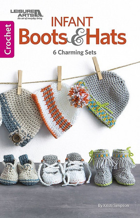 Leisure Arts Infant Boots & Hats