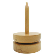 Estelle Beech Yarn Spindle (Smooth)