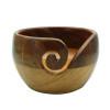 Estelle Acacia & Mango Wood Yarn Bowl