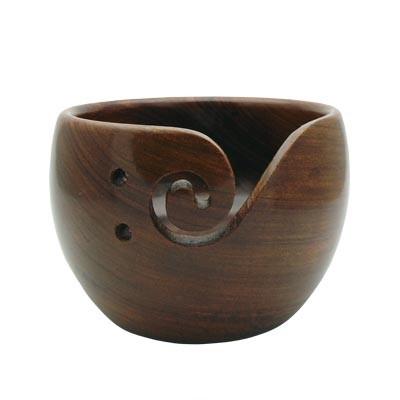 Estelle Acacia Yarn Bowl - Small
