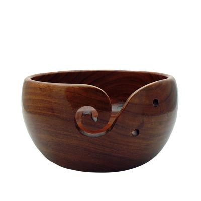 Estelle Acacia Yarn Bowl - Large