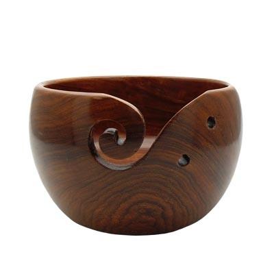 Estelle Acacia Yarn Bowl - Medium