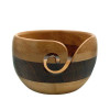 Estelle Beech & Acacia Stripe Yarn Bowl
