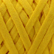 Hoooked Yarn Lemon Yellow Ribbon XL Yarn (6 - Super Bulky)