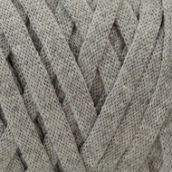 Hoooked Yarn Silver Grey Ribbon XL Yarn (6 - Super Bulky)