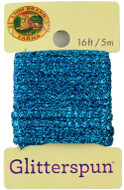 Lion Brand Aquamarine Glitterspun Yarn (3 - Light)