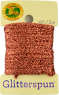 Lion Brand Copper Glitterspun Yarn (3 - Light)