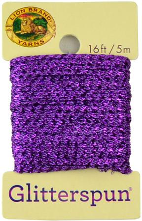 Lion Brand Amethyst Glitterspun Yarn (3 - Light)