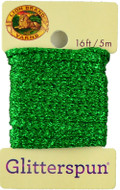 Lion Brand Emerald Glitterspun Yarn (3 - Light)