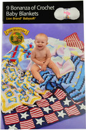 Lion Brand 9 Bonanza of Crochet Baby Blankets - Book