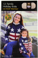 Lion Brand 12 Family Holiday Knits - Book