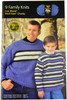 Lion Brand 9 Family Knits - Book