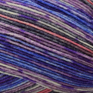 Opal Iris Eats Cotton Candy Rainforest 15 Yarn (1 - Super Fine)