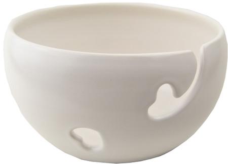 Madeleine Coomey White Yarn Bowl