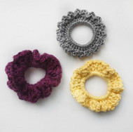 3 Simple Scrunchies - Downloadable Pattern