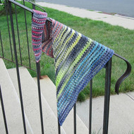 Judy's Rainbow Scarf - Downloadable Pattern