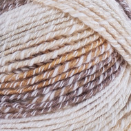 Lion Brand Chocolate Ice Cream Cotton Blend Yarn (4 - Medium)