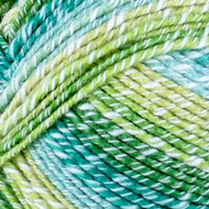 Lion Brand Lime Ice Cream Cotton Blend Yarn (4 - Medium)