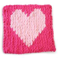 Lion Brand Heart Off The Hook Magic Yarn (7 - Jumbo)