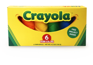 Lion Brand Crayola Box - 6 Pack