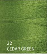 Ashford Cedar Green Yoga Weaving Yarn