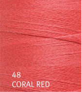 Ashford Coral Red Yoga Weaving Yarn