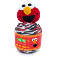 Lion Brand Elmo Sesame Street One Hat Wonder Yarn (4 - Medium)