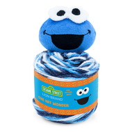 Lion Brand Cookie Monster Sesame Street One Hat Wonder Yarn (4 - Medium)