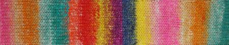 Noro #483 Red, Green Orange Silk Garden Yarn (4 - Medium)