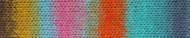 Noro #421 Blue, Orange, Pink Kureyon Yarn (4 - Medium)