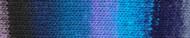 Noro #434 Purple, Blue, Black Kureyon Yarn (4 - Medium)
